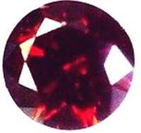 DIAMANT NATUREL ROUGE CERISE 0.10 CT. VRAC 3.00 mm. ROND VVS1
