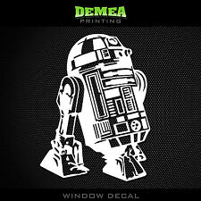 "R2D2 STAR WARS - Window Car Decal/Sticker - 5"""