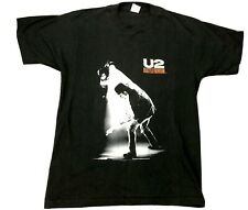 80's U2 Bono Original 1988 Rattle Hum T Shirt Rock Icon No Cd Dvd
