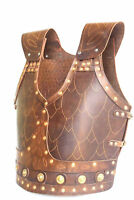 Leather Body Armour Medieval Knight Crusader Costume for Christmas Larp Gift
