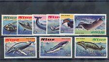 Niue Sc 380-8(Mi 502-10)*F-Vf Nh 1983 Whales Set $75