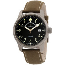 Zeno Pilot Automatic Movement Black Dial Men's Watch 6554RA-B