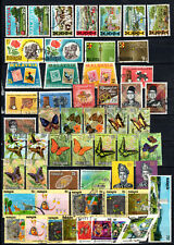 MALAYSIA MALAYA 1966-1971 COMPLETE SETS OF USED STAMPS
