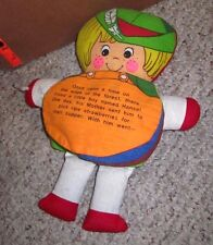 HANSEL & GRETEL characters vtg storybook doll 1960s read-a-long witch Ohio plush