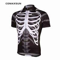 Men's Cycling Jersey Skeleton Bike Bicycle Shirts Sports Shirts Top S-3XL EOCJ06