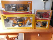 LOTE MINIATURAS JOAL 1:25 JCB MANITOU GHEL DYNALIFT 4 ITEMS TWISCO NEW NO TEKNO