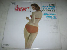 The Art Van Damme Quinteto With Johnny Smith a Perfect Match Us Años 60 Sexy