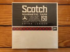 Scotch Magnetic Tape 150 Extra Length Reel To Reel Sealed NOS