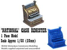 O/On30/1:48/28mm/32mm 3d printed 'National' Cash Register (1 piece)