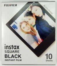 Fuji cartouche instax square black frame 10 vues utilisable jusquà 01/2020