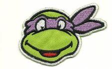 Teenage Mutant Ninja Turtles DONATELL Cartoon Appliques Embroidery Iron on Patch
