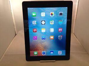 Apple iPad 4th Generation 16GB Black WiFi Fair Condition