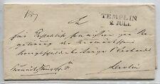 Briefhülle vom 2. Juli (ohne Jahr) von Templin nach Berlin (B04312)
