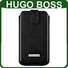 ORIGINALE HUGO BOSS Pelle Custodia Blackberry Z10 ORIGINALE Wallet Cover Custodia Telefono