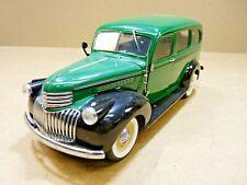 Franklin Mint 1946 Chevrolet Suburban, Tag, Green