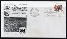 CANADA = 1970 Northwest Territories Centennial FDC. Unaddressed.