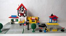 RARE LEGO Vintage 1589 Town Square Place de la ville 1978 avec notice