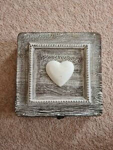 Heart Shaped Mirror In A Box