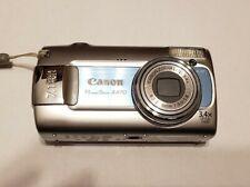 Canon PowerShot A470 7.1MP Digital Camera - Silver / Blue 022