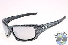 Oakley Valve Sunglasses OO9236-10 Carbon Fiber w/ Chrome Iridium Lenses