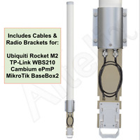 Altelix 2.4 GHz 15dBi MIMO Omni Antenna for Cambium ePmP Ubiquiti TP-Link WBS210
