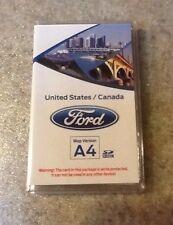 Ford Sync A4 GPS Map SD Card