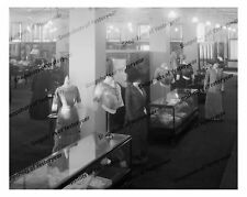 Vintage photo-store-hats-mannequin-cloak-suits-8x10 in.