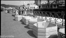 Ancien Négatif photo - Nice Ruhl Plage Casino de la Jetée Promenade des Anglais