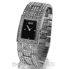 * NUEVO * DOLCE GABBANA Damas D&G Cest Chic & Glitz Reloj - 3719251037-RRP £ 225
