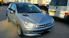 PEUGEOT 206 2005 1.2 petrol 5 speed gearbox ezr silver