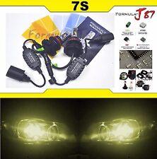 LED Kit 7S 50W 9007 HB5 3000K Yellow Head Light Two Bulbs Dual Beam Upgrade