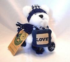 """Boyds Bears Adrienne Berrifrost Love 20th Anniversary Ornament 6"""" Jointed Cute"""