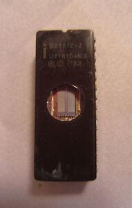 Vintage 1983 Intel D27512-2 U716104MS 28-Pin 7707310SBA Ic Processor Chip