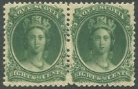 NOVA SCOTIA #11 MINT PAIR VF NH
