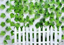 Kunstpflanzen Efeuranke Künstliche Efeu Efeubusch Efeugirlande GrünBlätter 250cm