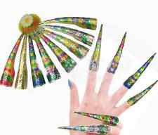 Wholesale 10pcs Chinese Traditional Qing Style Handmade Cloisonne Nail Protector
