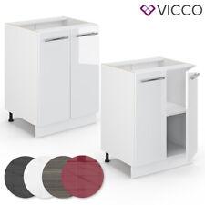 VICCO Unterschrank 60 cm Küchenschrank Hängeschrank Küchenzeile Fame-Line
