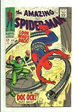 THE AMAZING SPIDER-MAN #53 (1967, MARVEL) Silver Age Comic LOOK *****