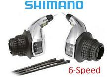 Shimano SL-RS45 Revo Shift Lever Set 6Spd Right / SIS Left ESLRS45P6A