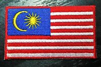 MALAYSIA Malaysian Country Flag Embroidered PATCH Badge *NEW*