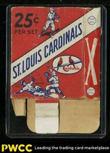 1941 St. Louis Cardinals Team Issue SETBREAK Original Box