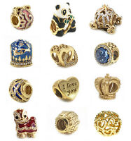 Gold Plating Service for Silver Charms 10K, 14K, 18K, 24K, Rhodium, Palladium