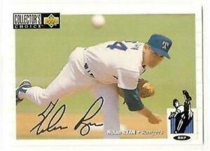 1994 Collector's Choice Silver Signature #249 Nolan Ryan Texas Rangers