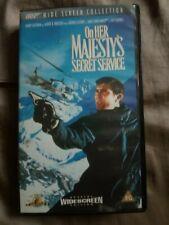 James Bond - On Her Majesty's Secret Service VHS Wide Screen