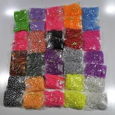 40 x 600 Refill Loom band packs, WHOLESALE Job LOT!  Children's Craft Making