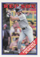 1988 TOPPS...DWIGHT EVANS...NRMT...# 470...RED SOX...FREE COMBINED SHIPPING