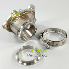 "For Toyota Celica MR2 CT26 Turbo Downpipe Flange to 3"" V Band Conversion Adaptor"