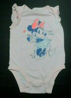 GIRLS BABY GAP DISNEY MINNIE MOUSE RETRO BODYSUIT SHIRT SIZE 18-24 MONTHS