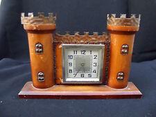 Rare BAYARD castlle wood clock;