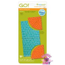 """Accuquilt GO! Fabric Cutter Die Drunkard's Path 3 1/2"""" Quilt Big & Baby 55070"""